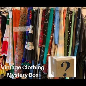 Vintage Clothing Mystery Box
